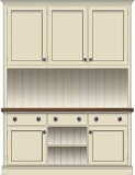 Doors & Drawers with Open Shelf Base Cupboards