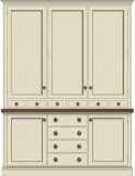 Drawer Set with Full Height Base Cupboards