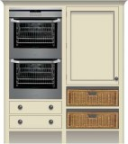 Full Double Oven & Fridge/Freezer Housings